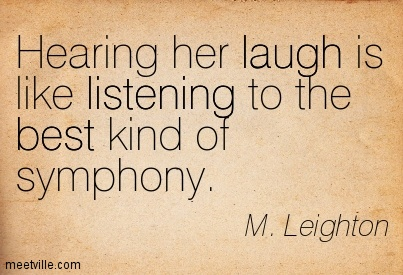 her laugh her laugh