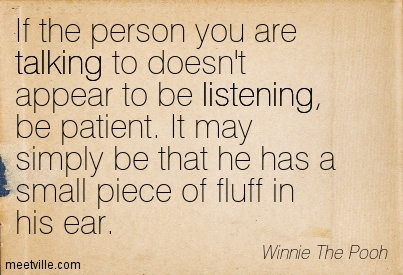 Quotes About Listening. Ron M Phillips Quote About Heart ...