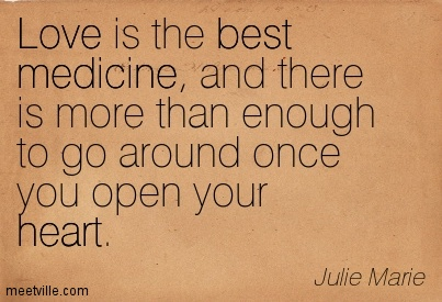 open your heart to love quotes