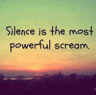 Powerful Life Quote Silence Is Most Powerful Scream New Powerful Quotes About Life