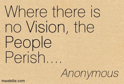 Where there is no Vision, the People Peris