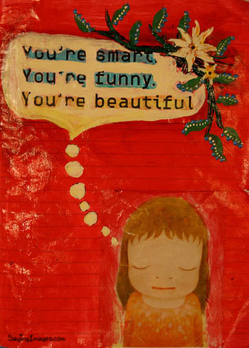 You're Beautiful, By Compliment Quotes