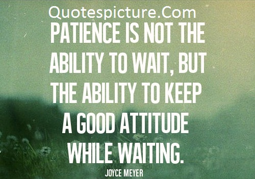 Ability Quotes - The Ability To Keep A Good Attitude By Joyce Meyer