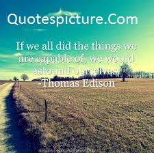 Ability Quotes - Wonderful Capability Quotes By Thomas Edison