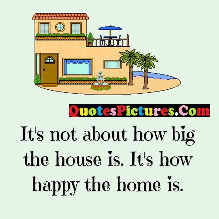 about big house happy home