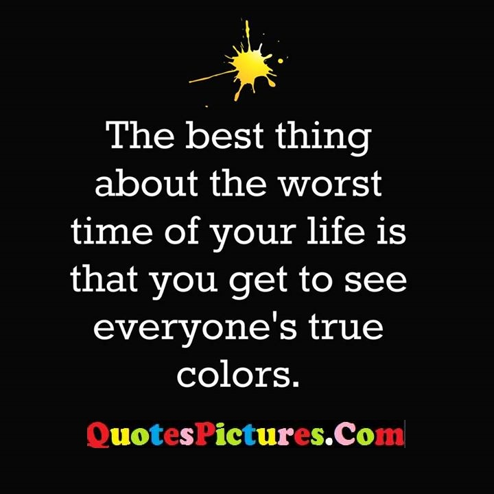 about worst time life true colors