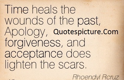 Acceptance Quotes - Acceptance Does Lighten The Scars By Rhoendyl Rcruz