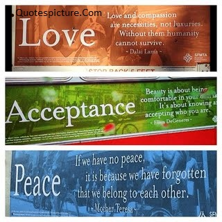 Acceptance Quotes - Meaning Of Love Acceptance And Peace