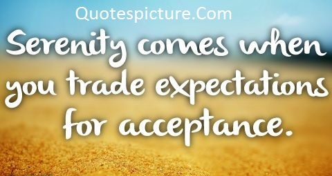 Acceptance Quotes - Wonderful acceptance Quotes