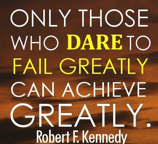 Achievement Quotes - Can Achieve Greatly By Robert F.Kennedy