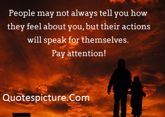 Action Quotes - Action Will Speak Themselves