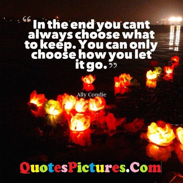 always choose let go