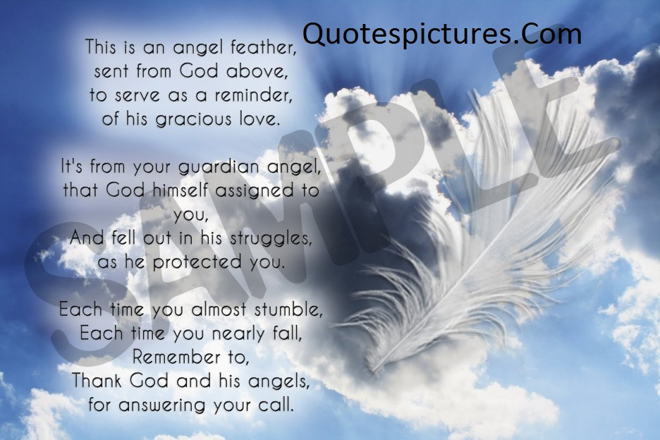 Angel Poem - Quotes