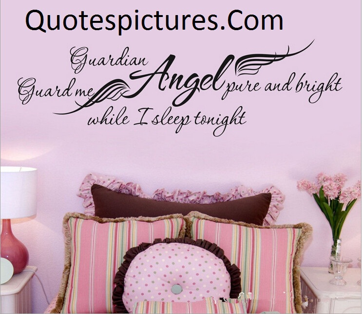 Angel Quotes - Angel Pure And Bright While I Sleep Tonight