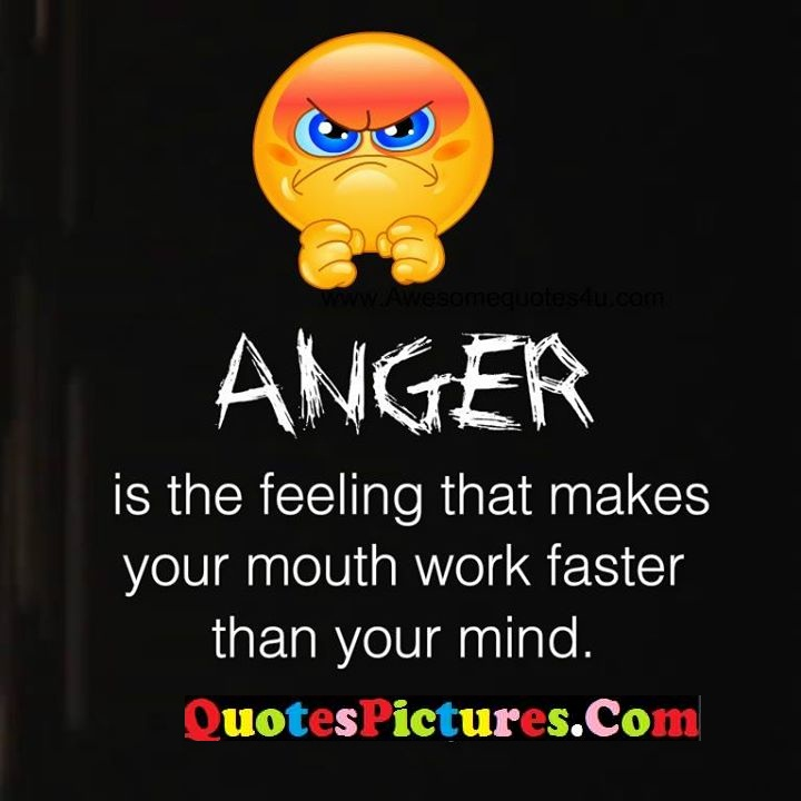 anger felling makes work mind