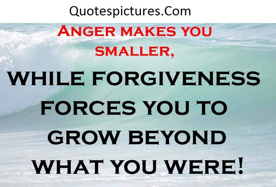 Anger Quotes - Anger Makes You Smaller