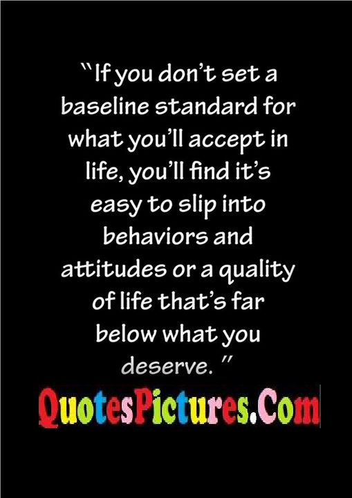 baseline accept easy behaviors