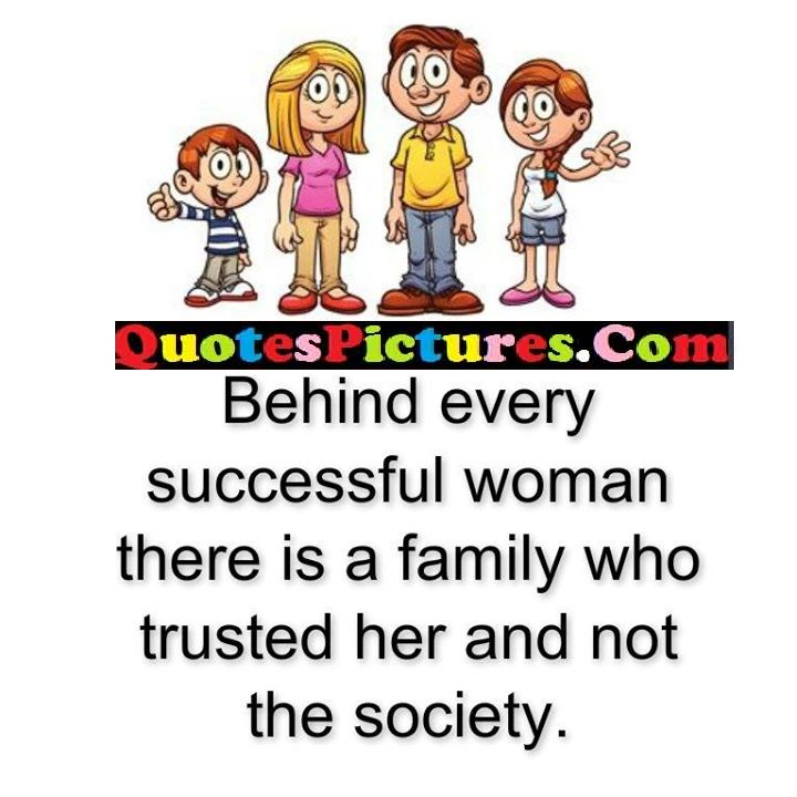 behind successful who truted