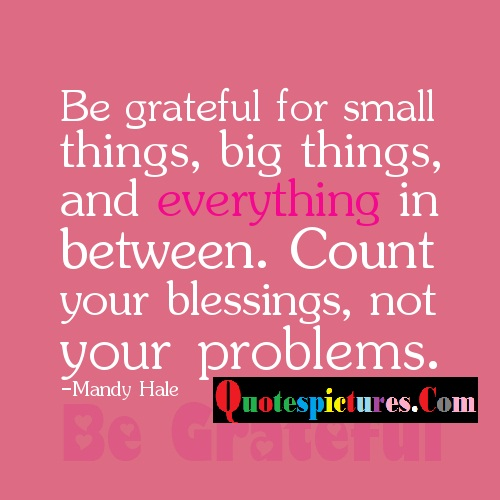 Blessings Quotes - Count your Blessings , Not Your Problems By Mandy Hale