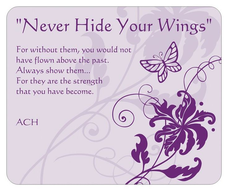 Butterfly Quotes - Never Hide Your Wings