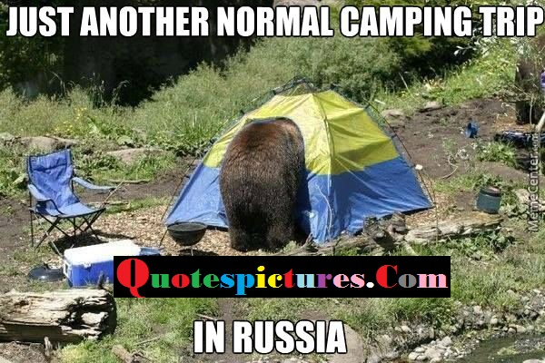 Camping Quotes - Just Another Normal Camping Trip