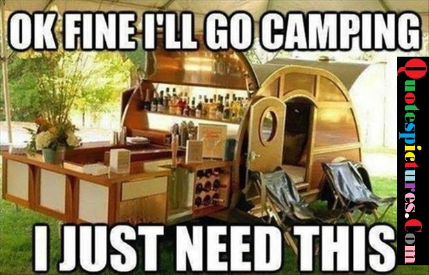 Camping Quotes - Ok Fine I'll Go Camping