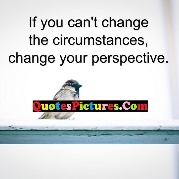change circumstances perspective quote