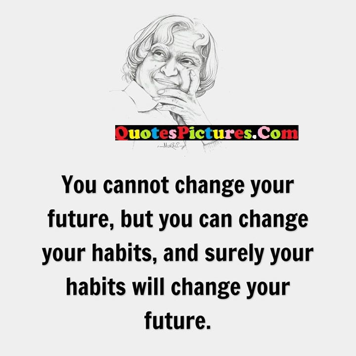 change future habits surely