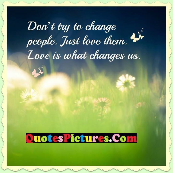 change love quote