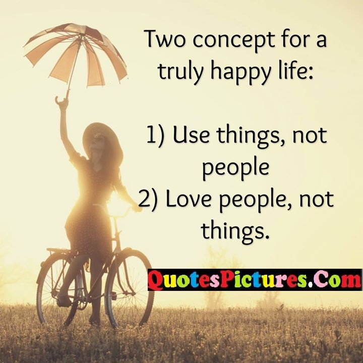 concept happy life people