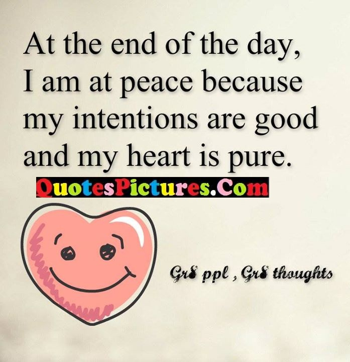 day intentions heart pure