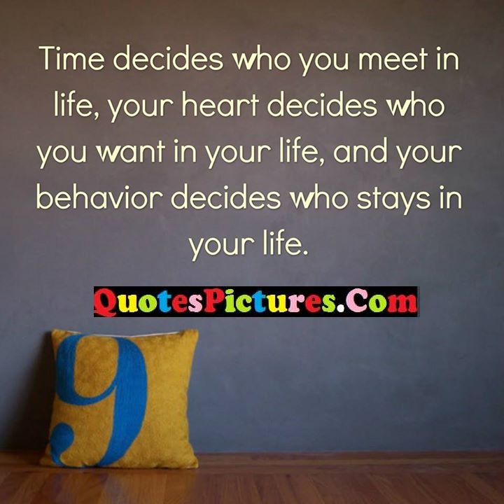 decides heart life behavior stays