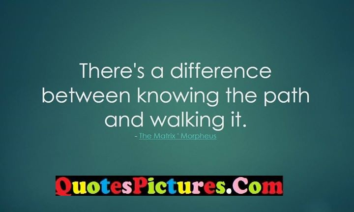 difference path working quote