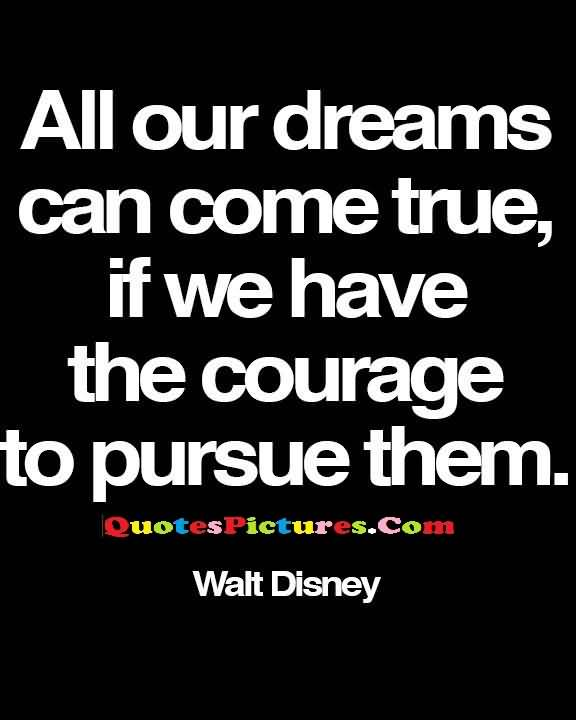 disney pursue courage