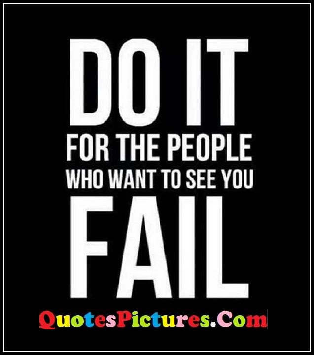 do it fail quote
