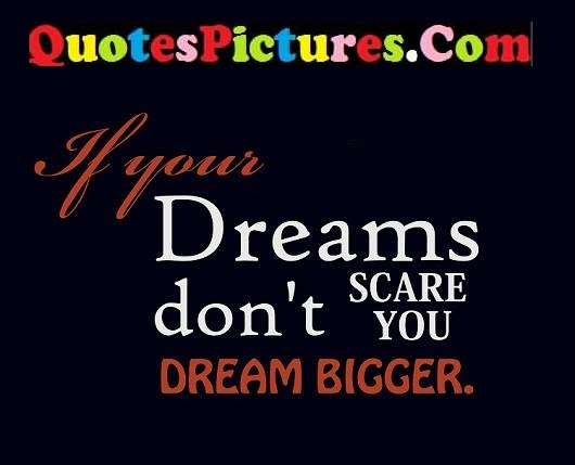 dreams scare quote