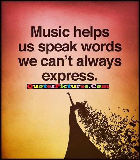 express through music