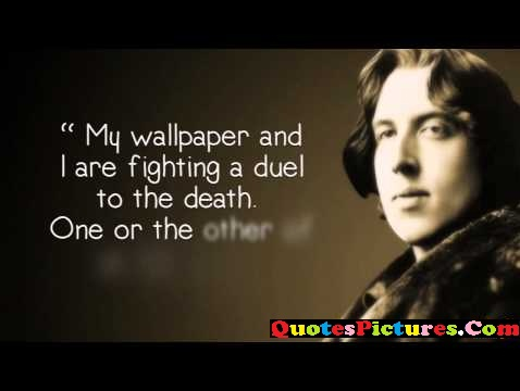 Fabulous Ideal Quote - My Wallpaper And I Are Fighting A Duel To The Death.