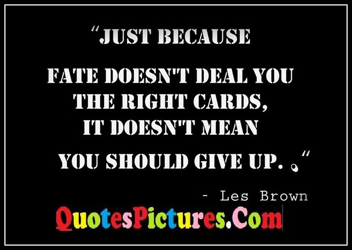fate deal right cards