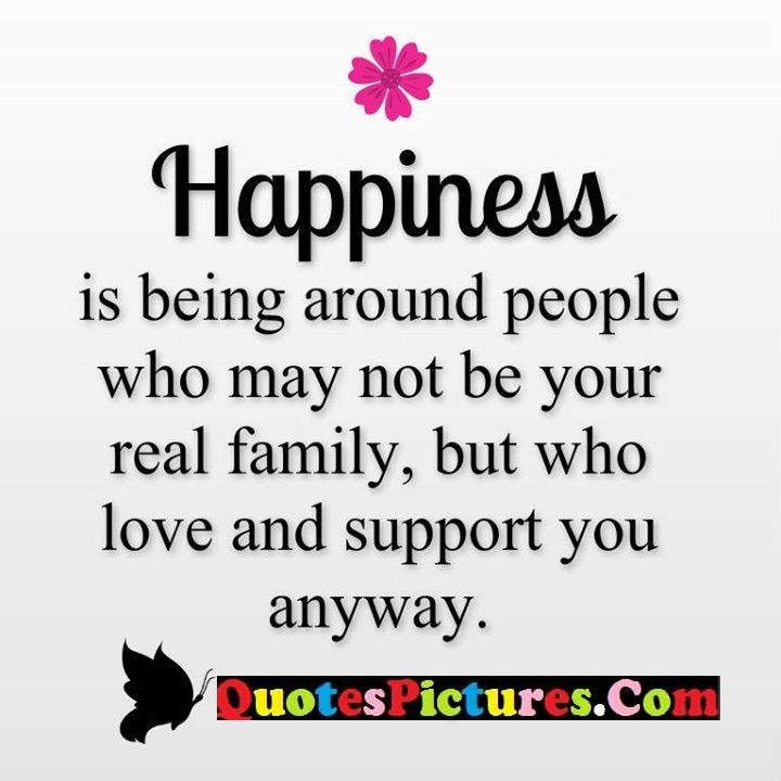 happiness family support anyway