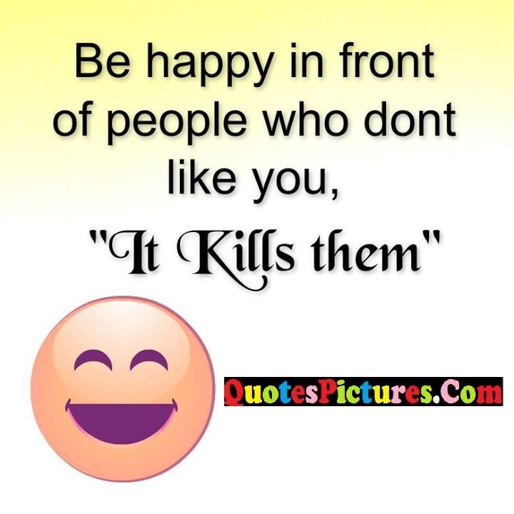 happy people like kills