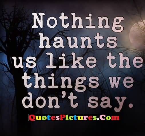 haunted things
