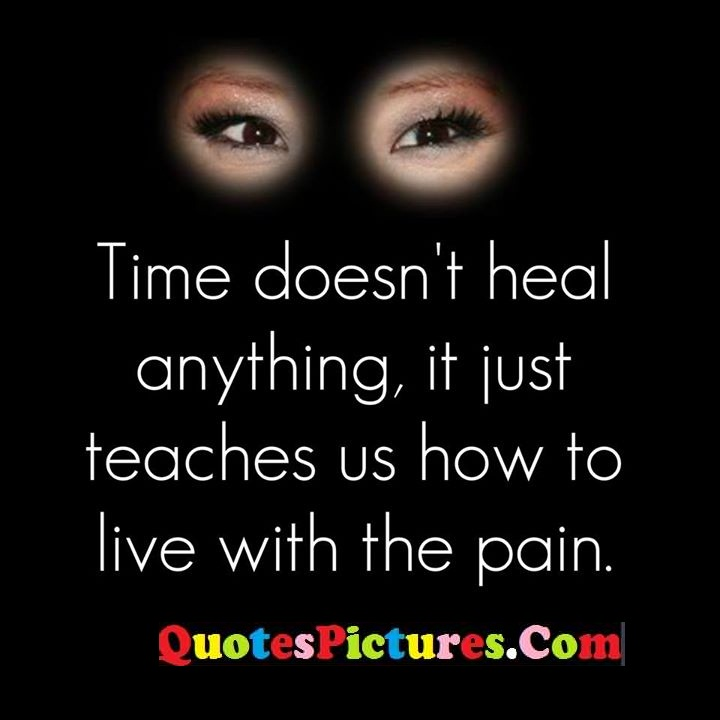 heal teaches live pain