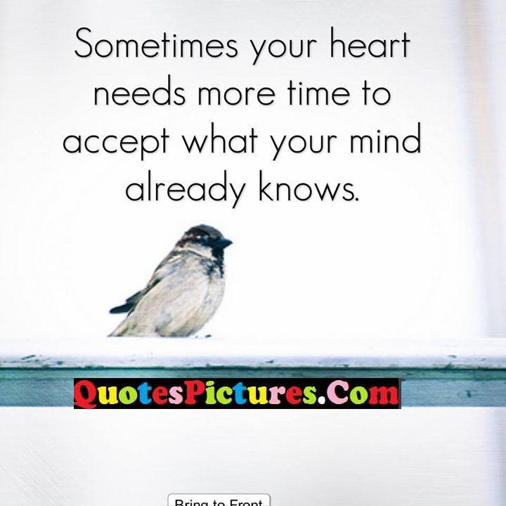 heart more accept already knows