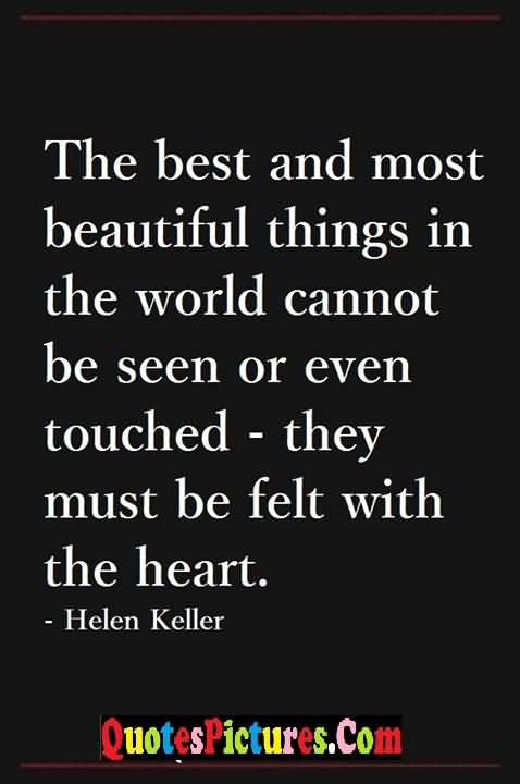 helen keller touching heart story