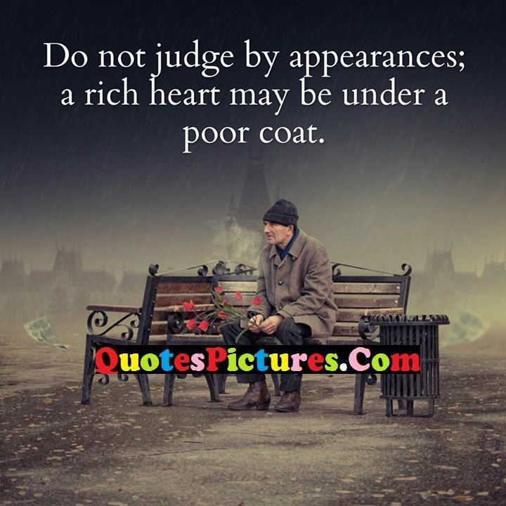 judging by appearances New international version stop judging by mere appearances, but instead judge correctly new living translation look beneath the surface so you can judge correctly.