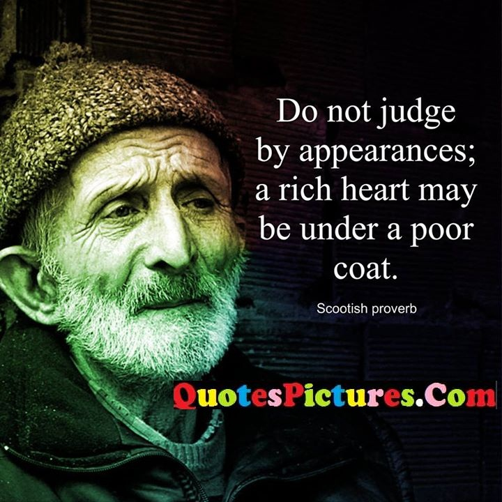 judge appearances heart poor