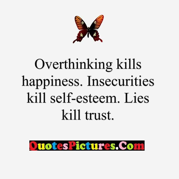 Most Best Quote About Lies Kill Trust - Quotespictures com