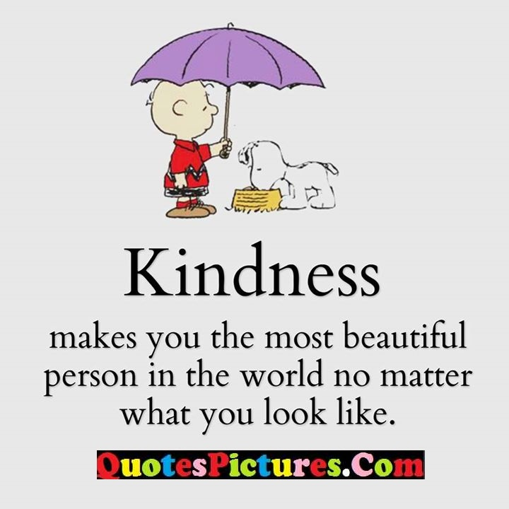 kindness most beautiful world
