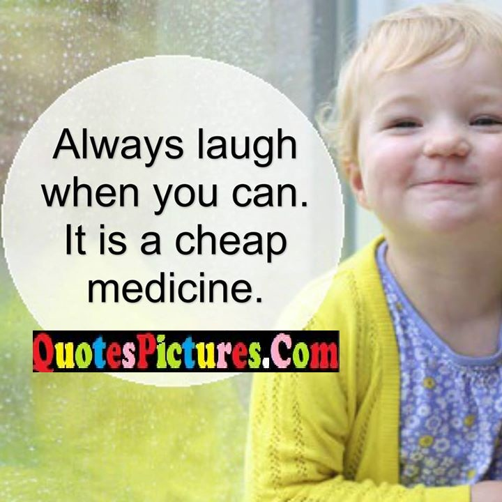 laugh cheap medicine
